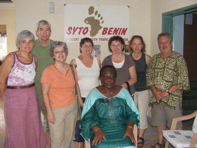 Photo avec Mme AHO Paulette,Pdte SYTO BENIN(79)