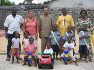 Volontaire dans un orphelinat
