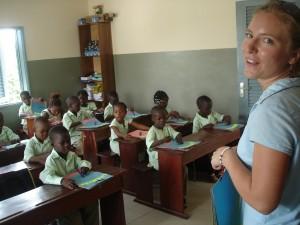 volonatire dans projet Ecole